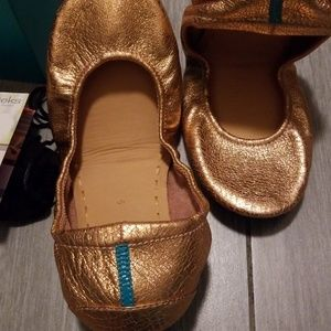 Tieks Shoes - Tieks rose gold glam 9 NIB